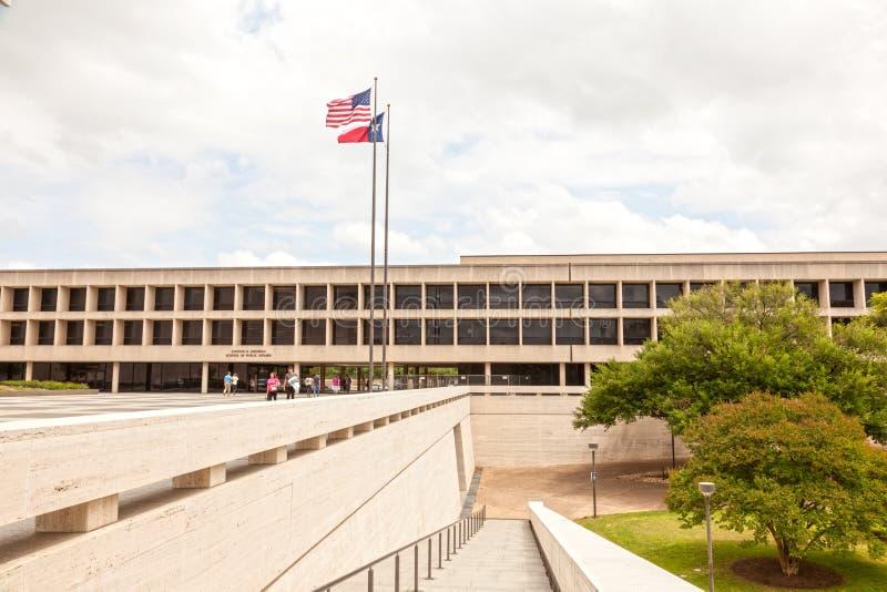School van Openbare Zaken in Austin, Texas stock fotografie