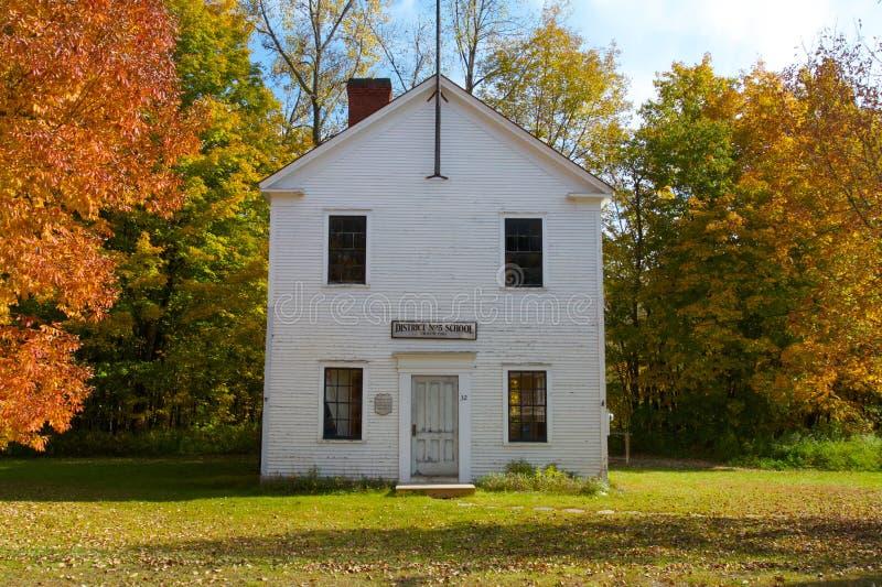 School in Vermont royalty-vrije stock foto's