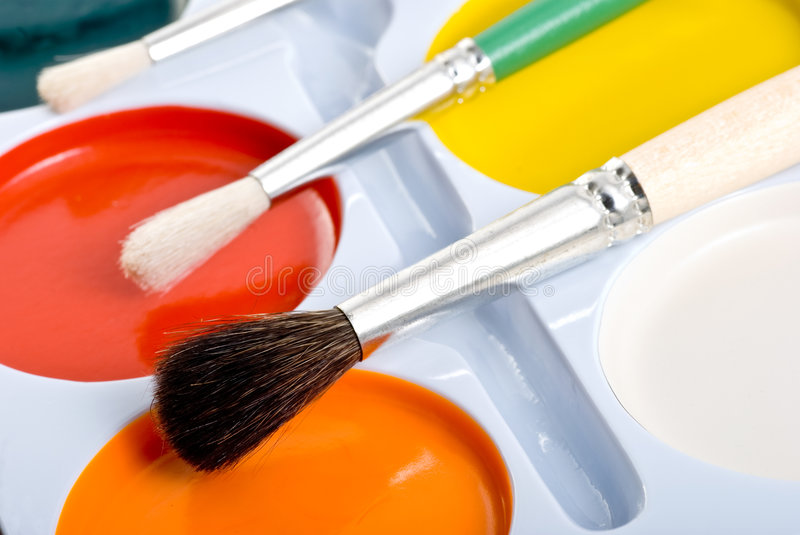 Download School watercolor stock photo. Image of abstract, color - 4623196