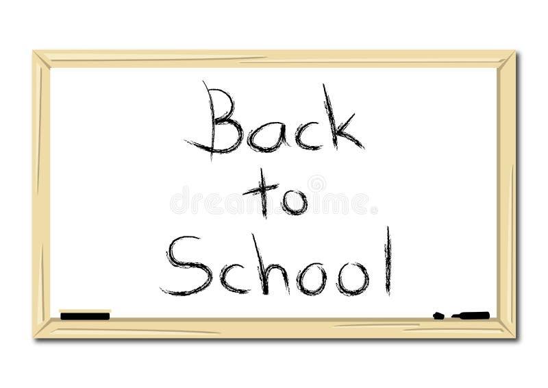 School Whiteboard stock photography
