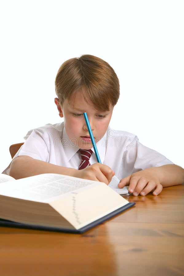 School work stock photo