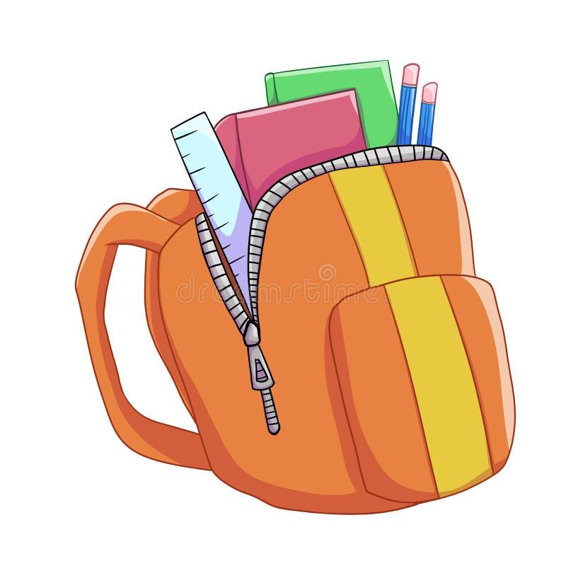 schoolbag ελεύθερη απεικόνιση δικαιώματος