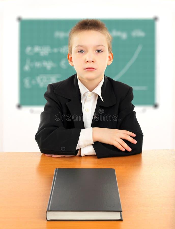 Schoolboy Royalty Free Stock Photo