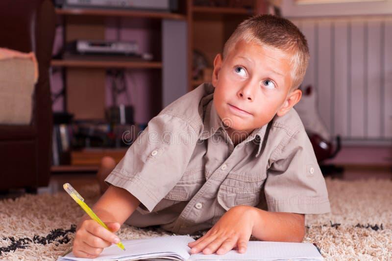 Download Schoolboy stock image. Image of people, grade, book, schoolchildren - 20831285