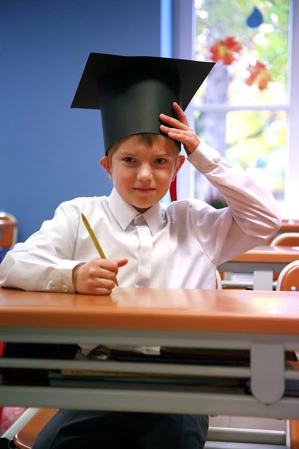 schoolboy arkivfoton