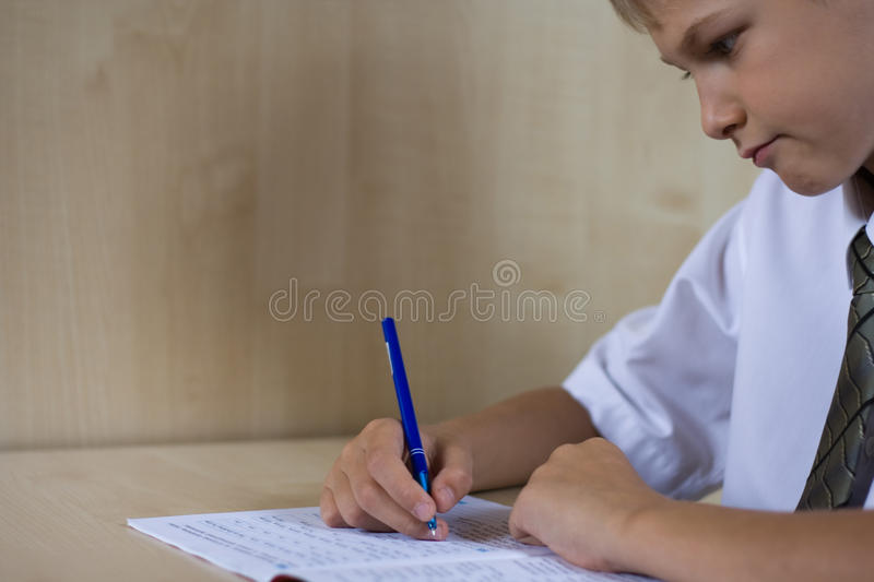 Download The schoolboy the teenager stock image. Image of study - 11389123
