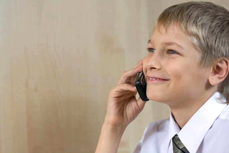 schoolboytonåring royaltyfria bilder
