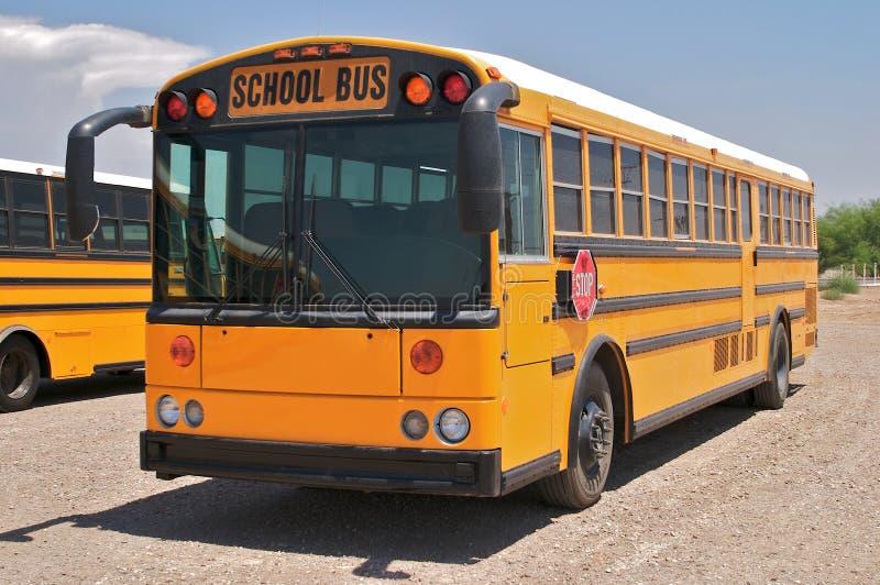 schoolbus fotografia royalty free