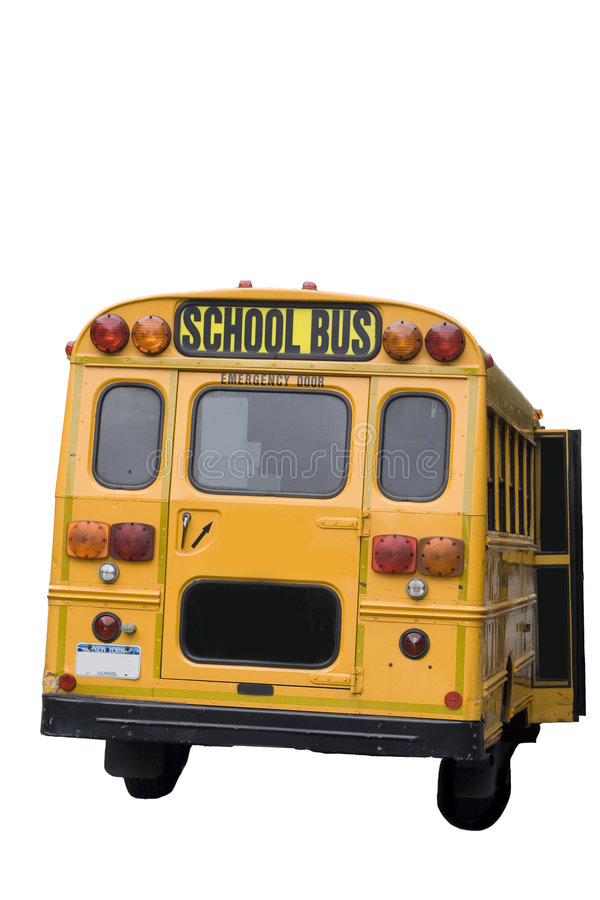 Schoolbus royalty free stock photos