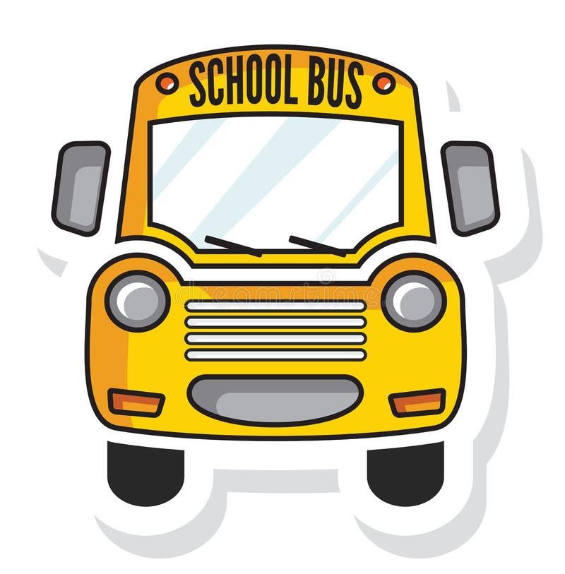 Schoolbus ilustracja wektor