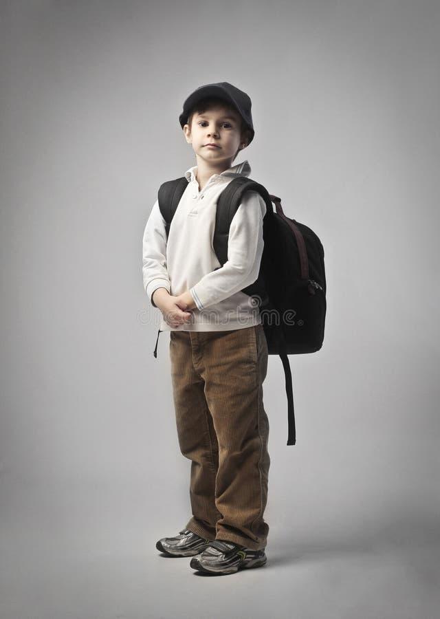 Schoolchild stock photo