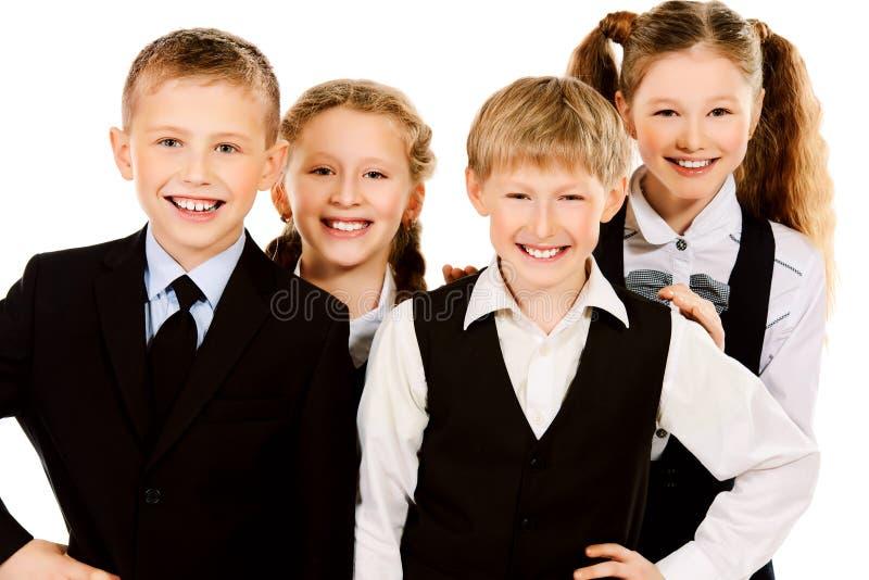 Download Schoolchildren стоковое изображение. изображение насчитывающей поколение - 40585191