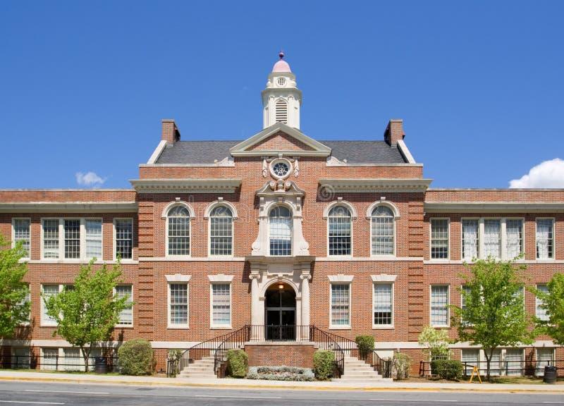 Schoolgebouw royalty-vrije stock afbeeldingen
