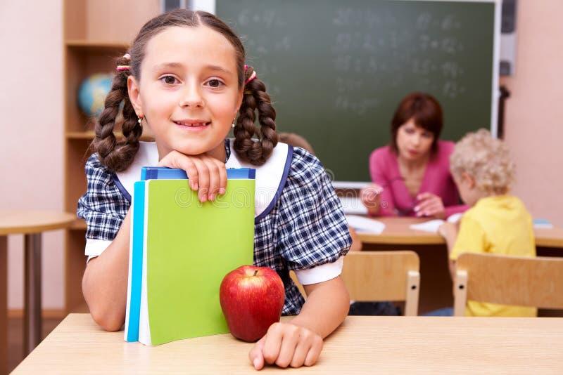 Download Schoolgirl stock image. Image of class, classroom, grade - 14750525