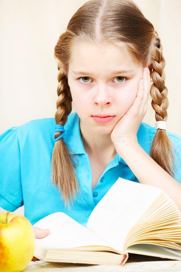 schoolgirl royaltyfri fotografi