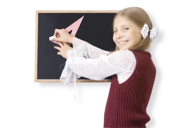 Schoolgirl fotografering för bildbyråer