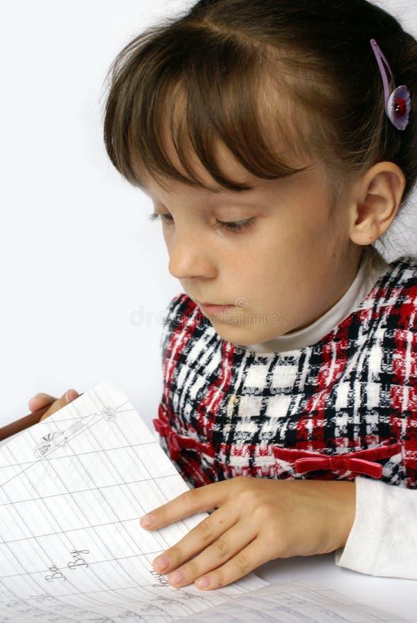 The Schoolgirl Stock Photo