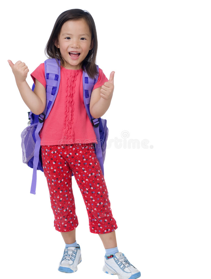 Download Schoolgirl stock photo. Image of educate, girl, preschool - 6701706