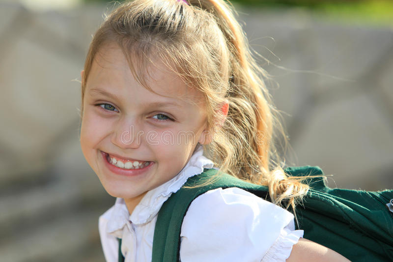 Download Schoolgirl stock photo. Image of child, education, pretty - 33528186