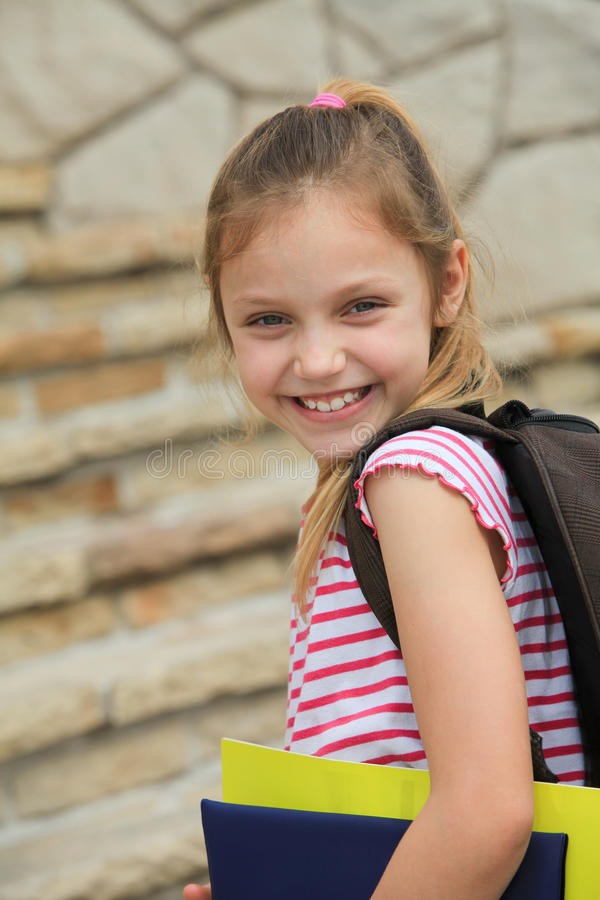 Download Schoolgirl stock photo. Image of summer, education, young - 33551856
