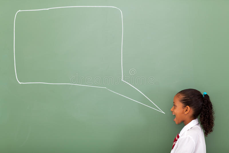 Download Schoolgirl Speech Bubble Royalty Free Stock Images - Image: 29287809