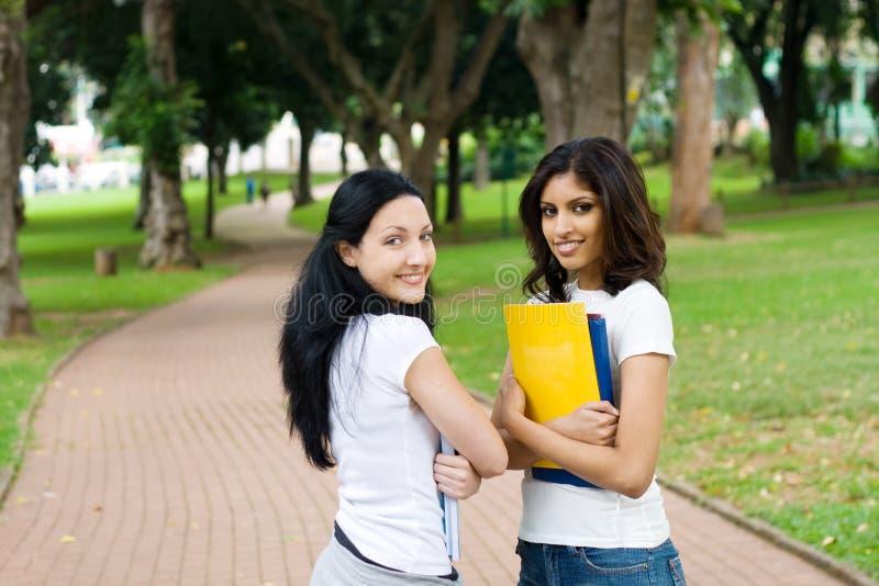 schoolgirls στοκ εικόνα