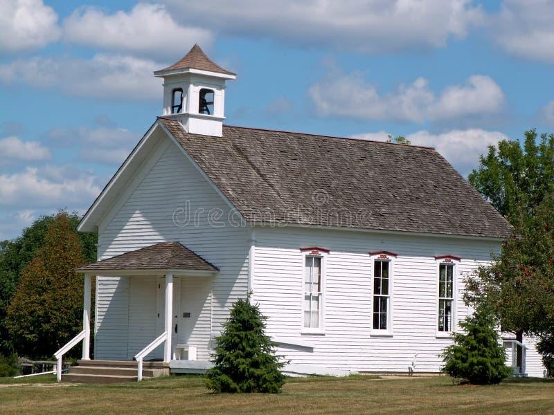 schoolhouse arkivbild