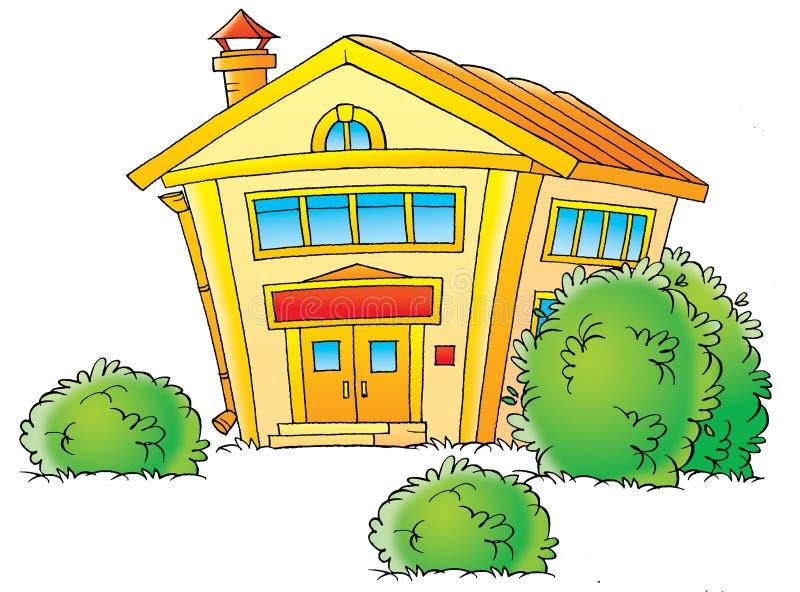 schoolhouse stock illustrationer