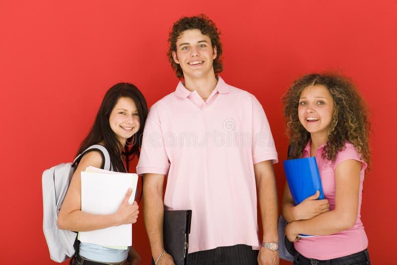 Schoolmakkers royalty-vrije stock afbeelding