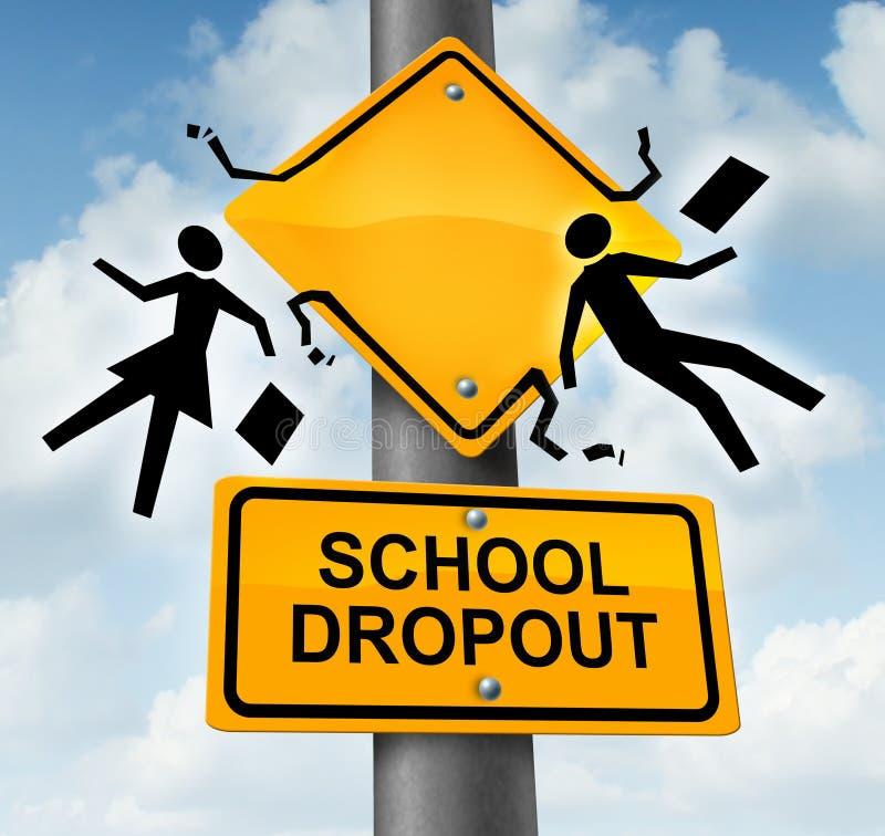 Schoolopgeven stock illustratie