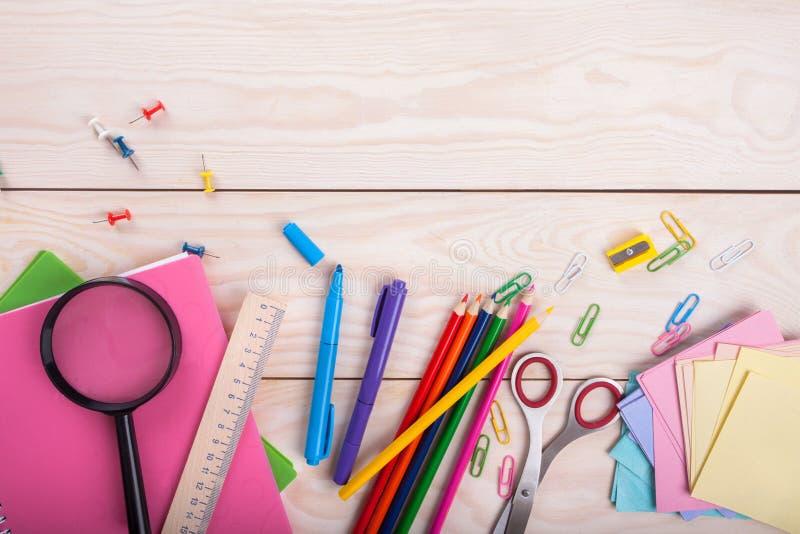 Schoolpunten stock foto