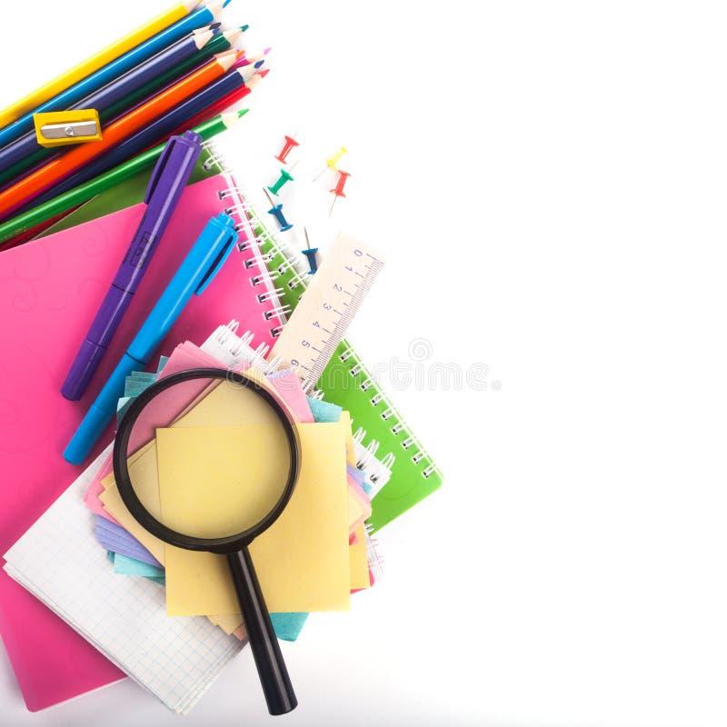 Schoolpunten stock afbeeldingen