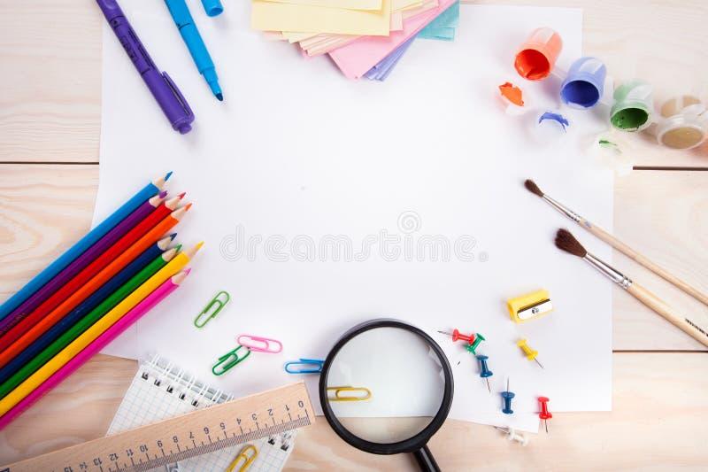 Schoolpunten stock foto's