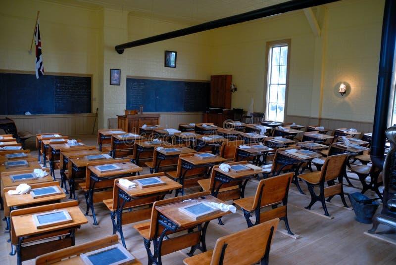 Schoolroom velho foto de stock