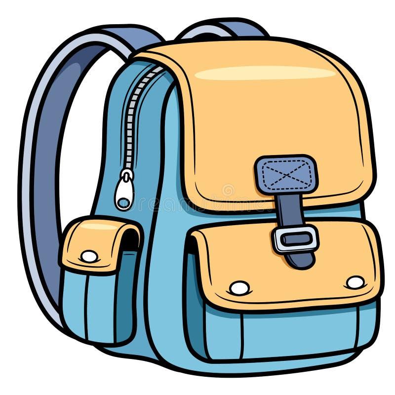 Schooltas stock illustratie
