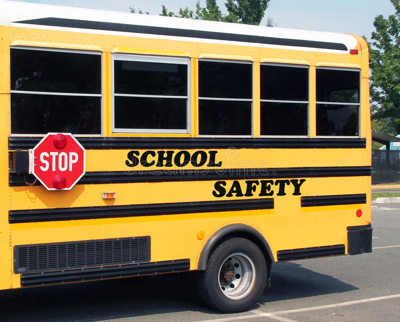 Schoolveiligheid stock afbeelding