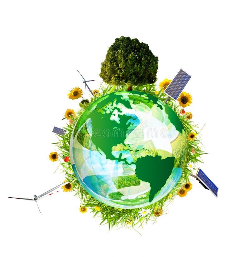 Schoon milieuconcept 4 vector illustratie