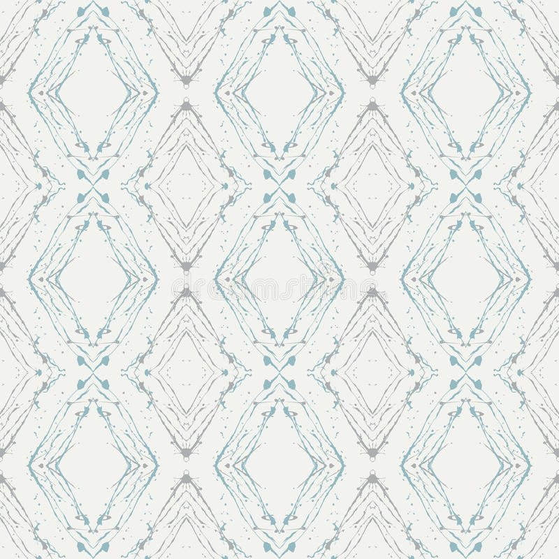 Schoon ontwerp, naadloos lineair vectorpatroon vector illustratie