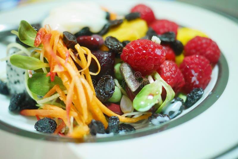 Schoon voedsel en goede gezondheid royalty-vrije stock fotografie