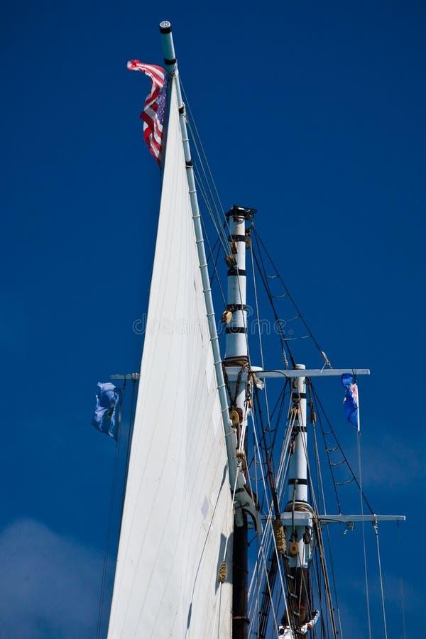 schooner στοκ φωτογραφία