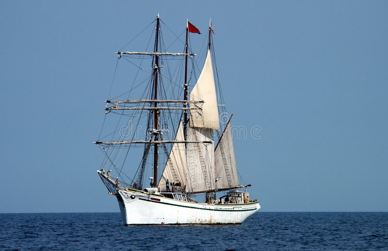 schooner στοκ εικόνα