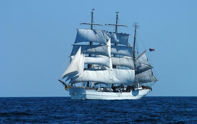 schooner 3 рангоута стоковые изображения