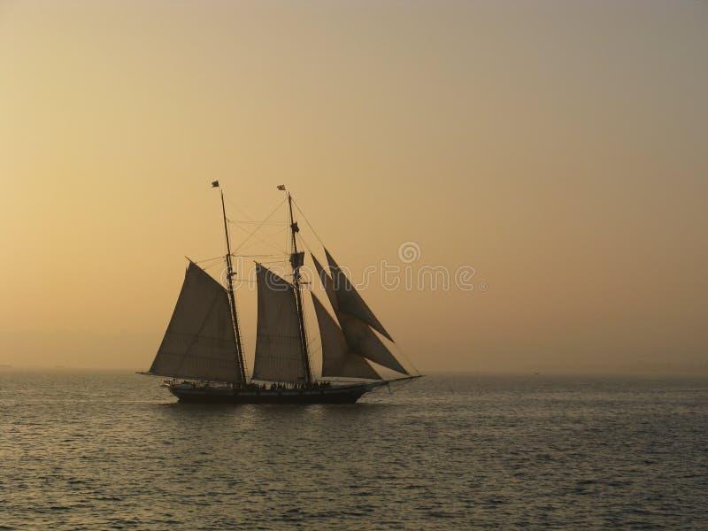 schooner стоковое изображение