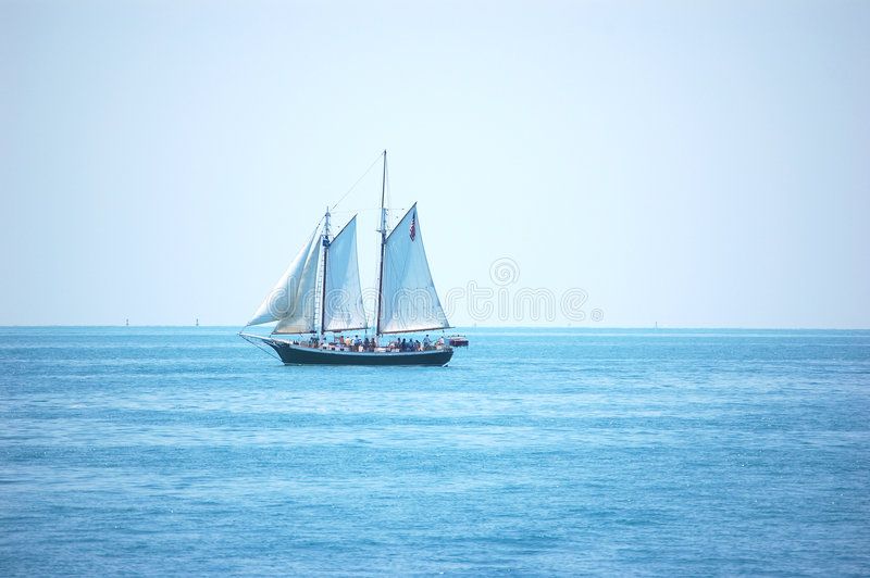 Schooner de Key West imagem de stock royalty free