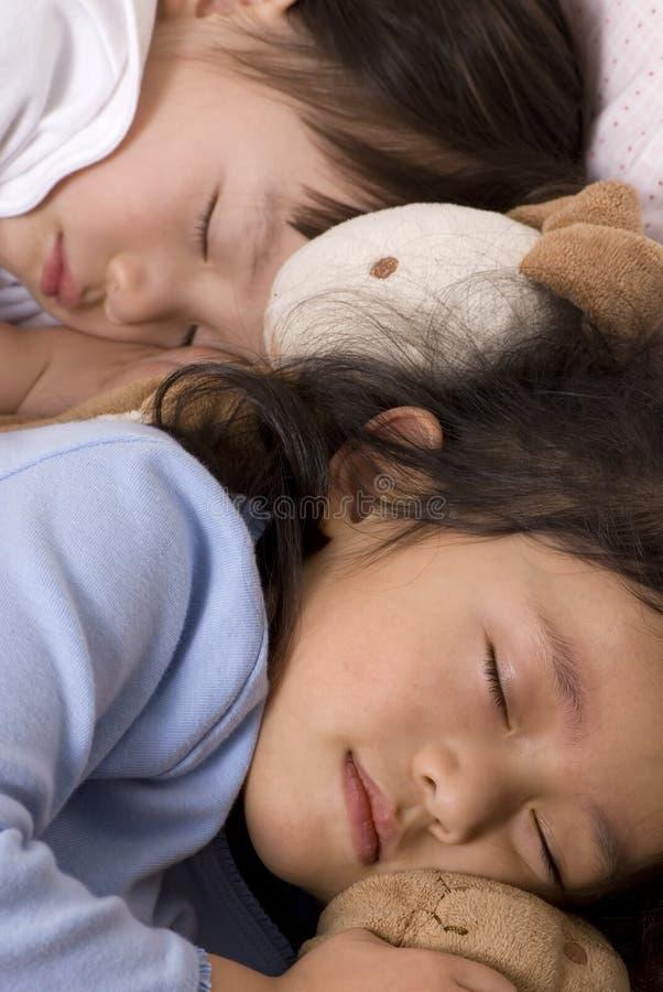 Schoonheid 2 van de slaap royalty-vrije stock afbeeldingen