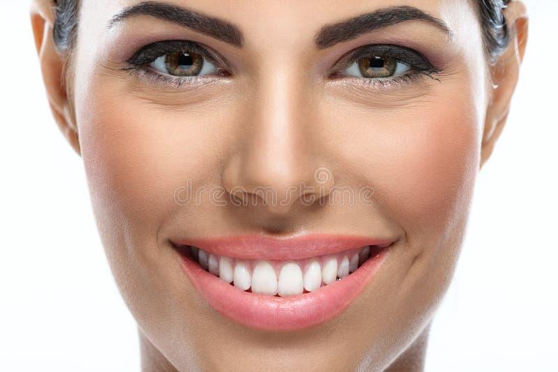 Schoonheid met glimlach royalty-vrije stock afbeelding