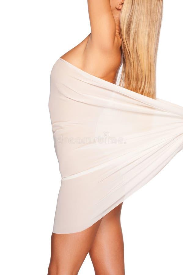 Download Schoonheid Met Vlotte En Gezonde Huid. Stock Afbeelding - Afbeelding bestaande uit haar, lang: 39113099