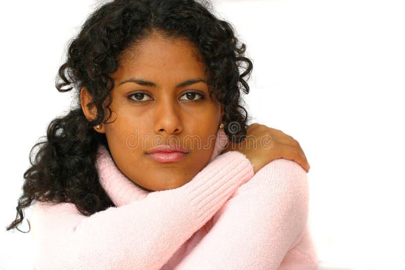 Download Schoonheid in roze stock afbeelding. Afbeelding bestaande uit donker - 297227