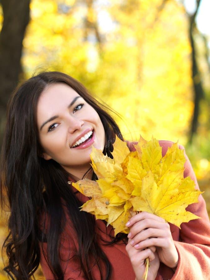 Schoonheid tijdens de herfst royalty-vrije stock fotografie