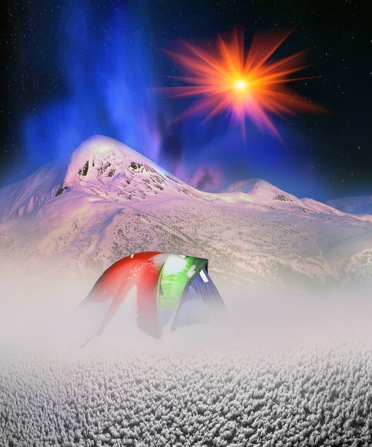 Schoonheid van de Alpen stock afbeeldingen